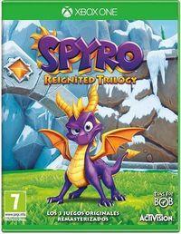 Portada oficial de Spyro Reignited Trilogy para Xbox One