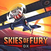 Portada oficial de Skies of Fury DX para Switch