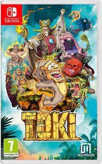 Portada oficial de Toki para Switch