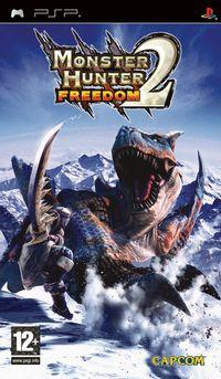 Portada oficial de Monster Hunter Freedom 2 para PSP
