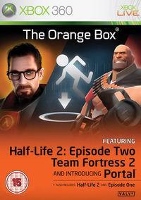 Portada oficial de Half-Life 2: Orange Box para Xbox 360
