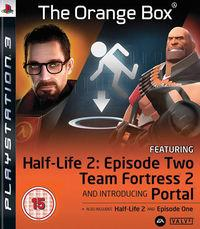 Portada oficial de The Orange Box para PS3