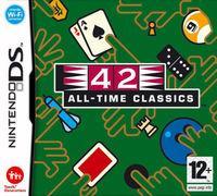Portada oficial de 42 All-Time Classics para NDS