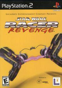 Portada oficial de Star Wars Racer Revenge: Racer 2 para PS2