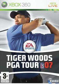 Portada oficial de Tiger Woods PGA Tour 07 para Xbox 360