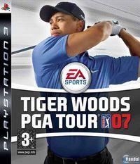 Portada oficial de Tiger Woods PGA Tour 07 para PS3