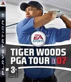 Portada oficial de de Tiger Woods PGA Tour 07 para PS3