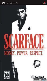 Portada oficial de Scarface: El Precio del Poder para PSP