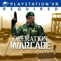 Portada oficial de Operation Warcade VR para PS4