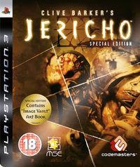 Portada oficial de Clive Barker's Jericho para PS3