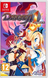 Portada oficial de Disgaea 1 Complete para Switch