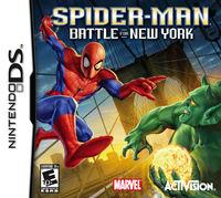 Portada oficial de Spider-Man: Battle for New York para NDS