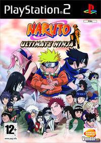 Portada oficial de Naruto: Ultimate Ninja para PS2