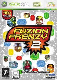 Portada oficial de Fuzion Frenzy 2 para Xbox 360