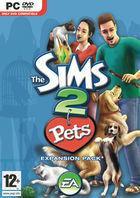 Portada oficial de de Los Sims 2 Mascotas para PC