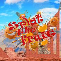 Portada oficial de Splat the Fruit para Switch