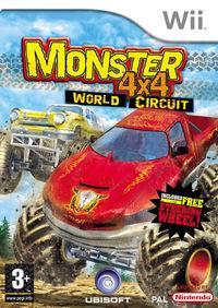 Portada oficial de Monster 4x4 World Circuit para Wii