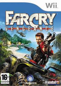 Portada oficial de Far Cry Vengeance para Wii