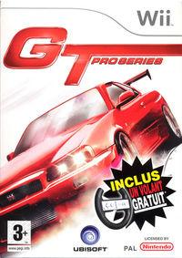 Portada oficial de GT Pro Series para Wii