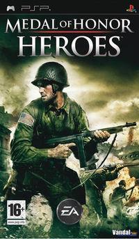 Portada oficial de Medal of Honor Heroes para PSP