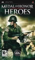 Portada oficial de de Medal of Honor Heroes para PSP