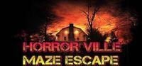 Portada oficial de Horror Ville Maze Escape para PC