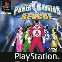 Portada oficial de Power Rangers Lightspeed Rescue para PS One
