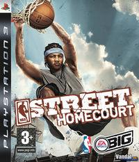 Portada oficial de NBA Street Homecourt para PS3