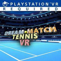 Portada oficial de Dream Match Tennis VR para PS4