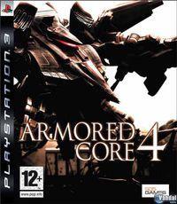 Portada oficial de Armored Core 4 para PS3