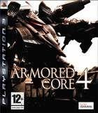Portada oficial de de Armored Core 4 para PS3