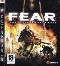 Portada oficial de F.E.A.R. para PS3