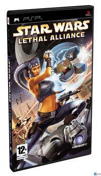 Portada oficial de Star Wars: Lethal Alliance para PSP