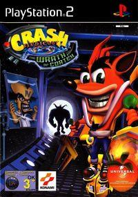 Portada oficial de Crash Bandicoot: The Wrath of Cortex para PS2