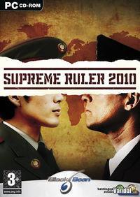 Portada oficial de Supreme Ruler 2010 para PC
