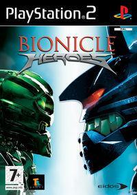 Portada oficial de Bionicle Heroes para PS2