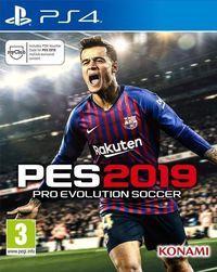 Portada oficial de Pro Evolution Soccer 2019 para PS4
