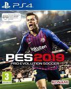 Portada oficial de de Pro Evolution Soccer 2019 para PS4
