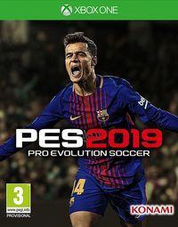 Portada oficial de Pro Evolution Soccer 2019 para Xbox One