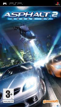 Portada oficial de Asphalt: Urban GT 2 para PSP