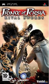 Portada oficial de Prince of Persia: Rival Swords para PSP