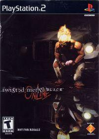 Portada oficial de Twisted Metal Black para PS2