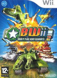 Portada oficial de Battalion Wars 2 para Wii