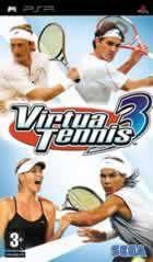Portada oficial de de Virtua Tennis 3 para PSP