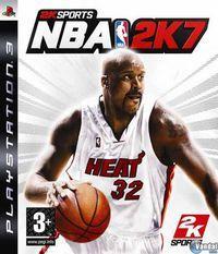 Portada oficial de NBA 2k7 para PS3