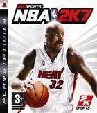 Portada oficial de de NBA 2k7 para PS3