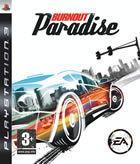 Portada oficial de de Burnout Paradise para PS3
