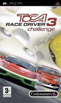 Portada oficial de TOCA Race Driver 3 Challenge para PSP