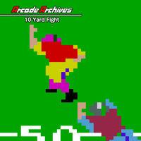 Portada oficial de Arcade Archives 10-Yard Fight para Switch
