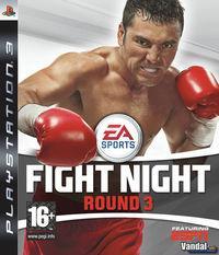 Portada oficial de Fight Night Round 3 para PS3